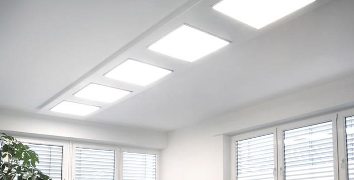 Luminaria los paneles de LED para techos desmontables
